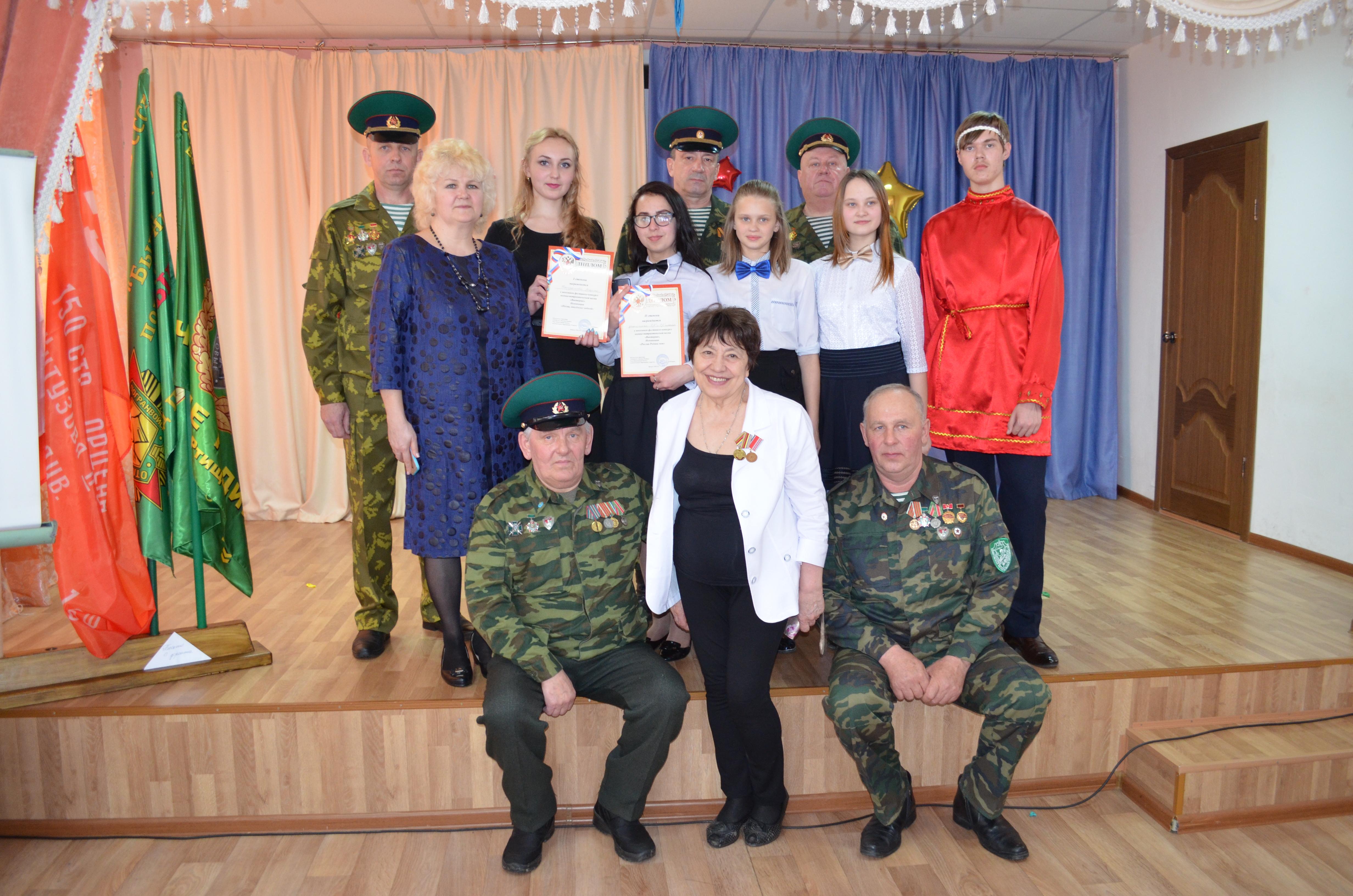 Конкурс военно-патриотической песни прошел в школе-интернате железнодорожников в Ртищево